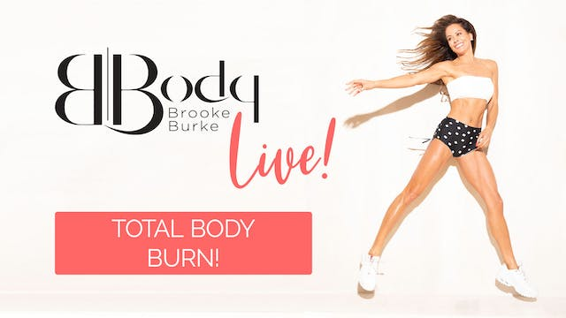 Living Room LIVE: Total Body Burn