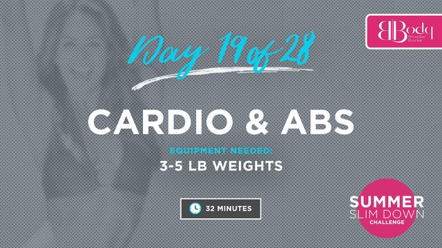 Day 19 - Cardio & Abs