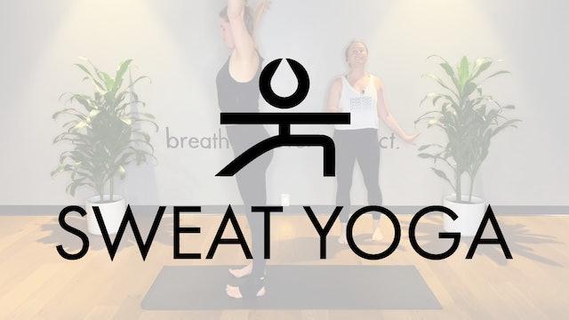 Sweat Yoga | Oblique Flow with Sam Wyman