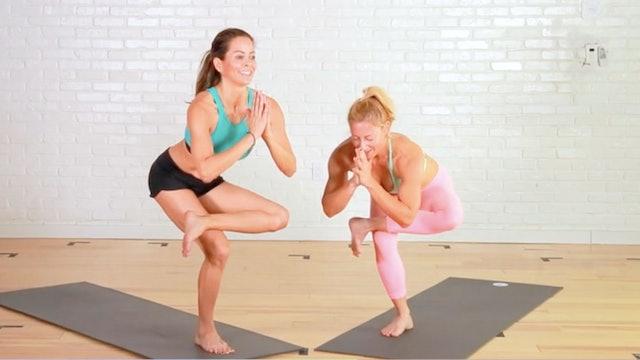 Sweat Yoga | Flowy, Fun Stretch with Layna Dakin