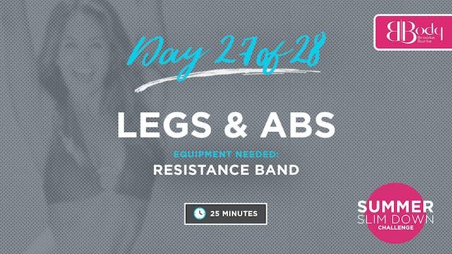 Day 27 - Legs & Abs