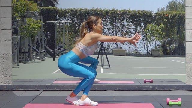 Malibu Squat Challenge