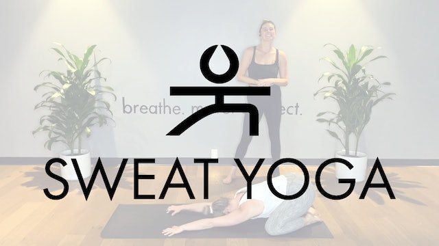 Sweat Yoga | Barre-style Yoga with Christine Comerford
