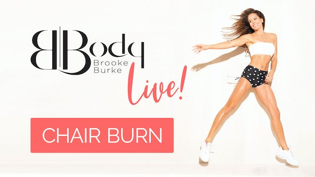 Chair Burn Workout - LIVE!