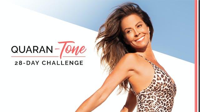 28-Day Quaran-TONE Challenge & Guide