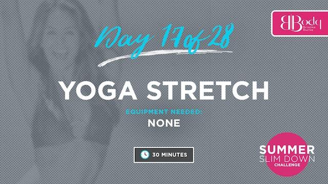 Day 17 - Yoga Stretch