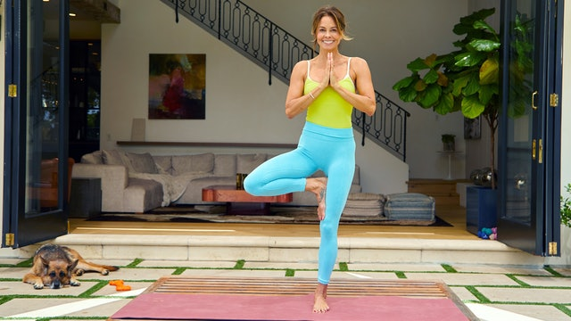 Quaran-TONE | Day 7 | Stretch & Recovery Yoga Flow
