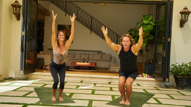 Home for the Holidays | Day 4 |  Couples Yoga Flow with Tom Morley