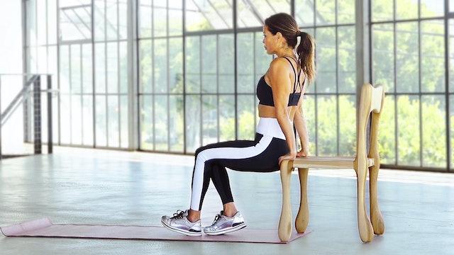 Chair Burn - Cardio & Arms