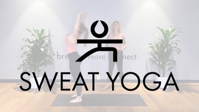Sweat Yoga | Flow to Heron with Zara Gardner