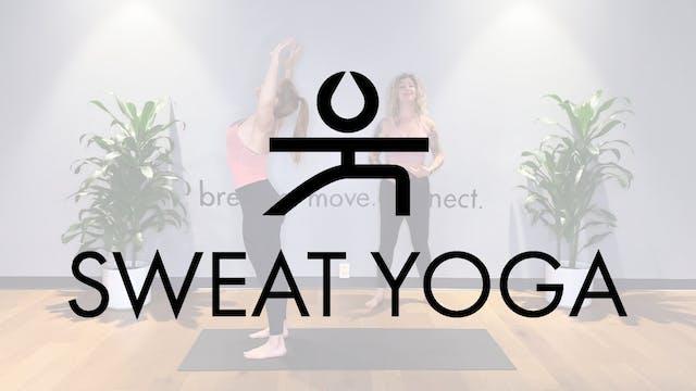 Sweat Yoga | Flow to Heron with Zara ...