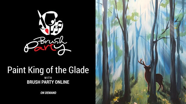 Paint King of The Glade with Brush Pa...