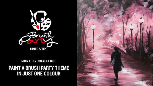 September 2021 Monthly Challenge - Paint your favourite theme with one colour