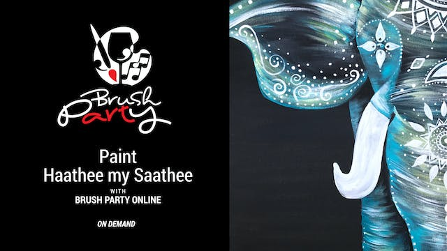 Paint Haathee my Saathee with Brush P...