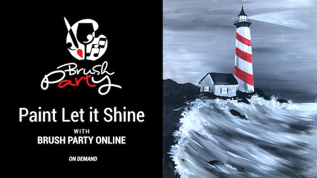 Paint Let it Shine with Brush Party Online
