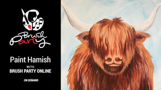 Paint Hamish with Brush Party Online