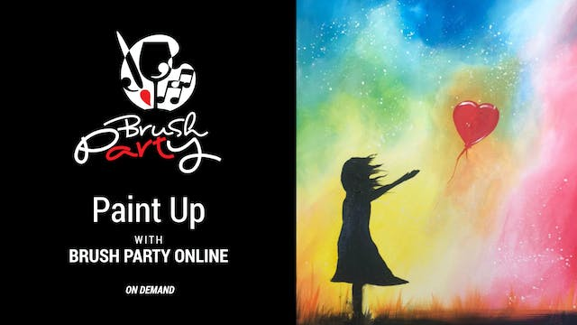 Paint 'Up' with Brush Party Online