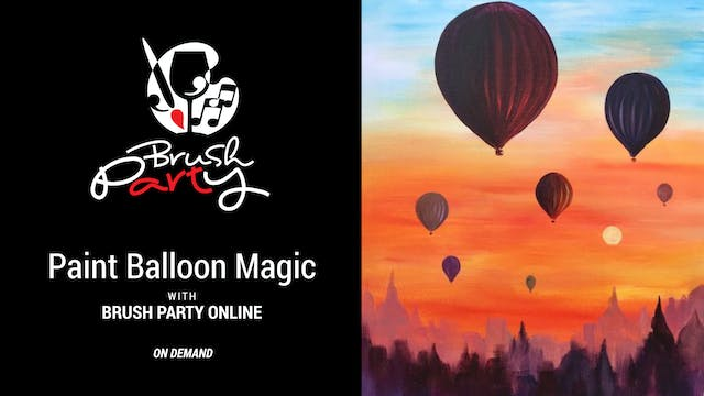 Paint Balloon Magic with Brush Party ...