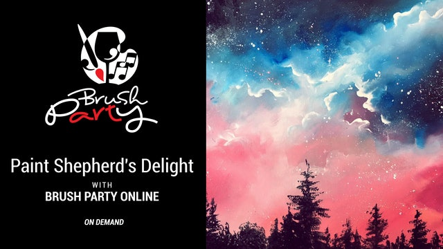 Paint Shepherd's Delight with Brush Party Online