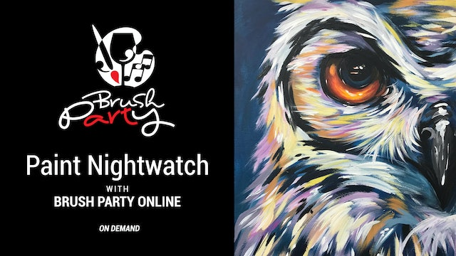 Paint 'Nightwatch' with Brush Party Online