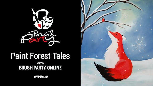 Paint Forest Tales with Brush Party O...