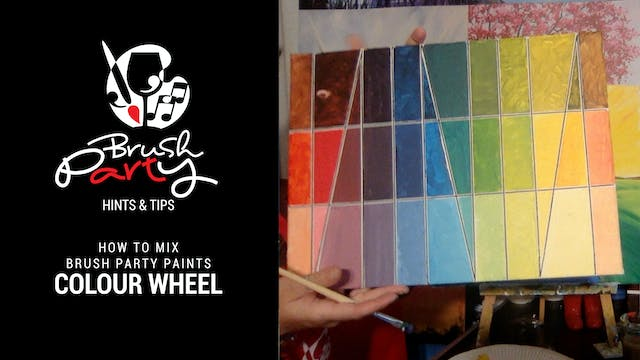 A simple colour wheel using Brush Par...