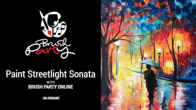 Paint Streetlight Sonata with Brush P...