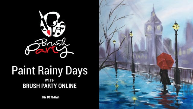 Paint Rainy Days with Brush Party Online