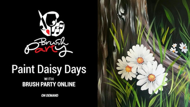 Paint Daisy Days with Brush Party Online