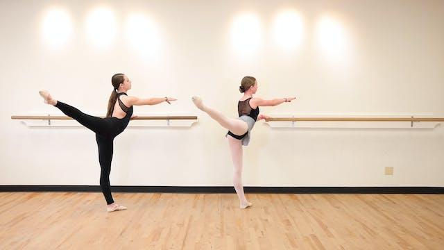 Kids Intermediate Ballet Technique