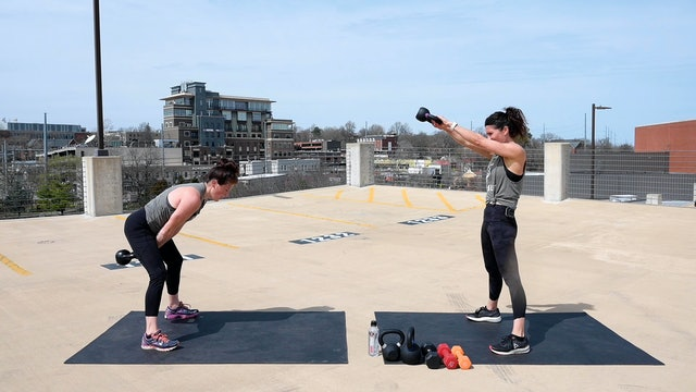 Kettlebell Circuit Two
