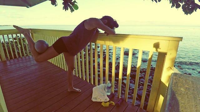 July Beach Barre from Maui