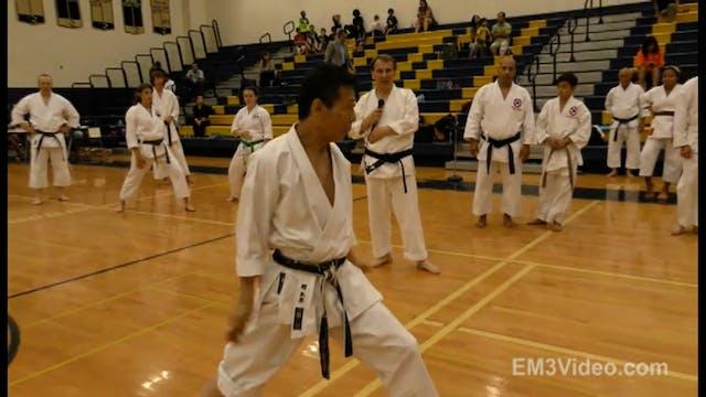 2 Mikio Yahara 1st USA Karate Seminar