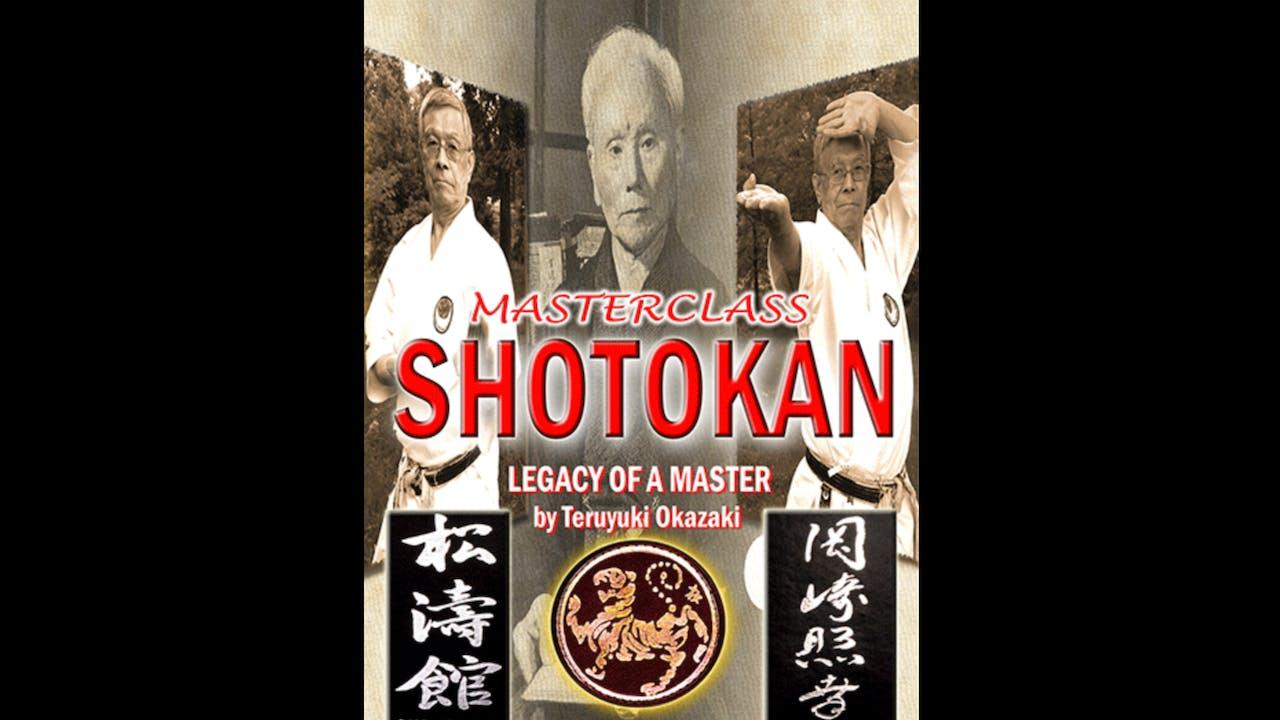 Legacy of a Shotokan Master by Teruyuki Okazaki
