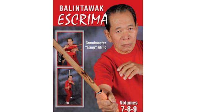 Balintawak Escrima Vol 7-9 by Ising Atilo