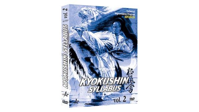 Kyokushin Kai Karate Syllabus Vol 2 Bertrand Kron
