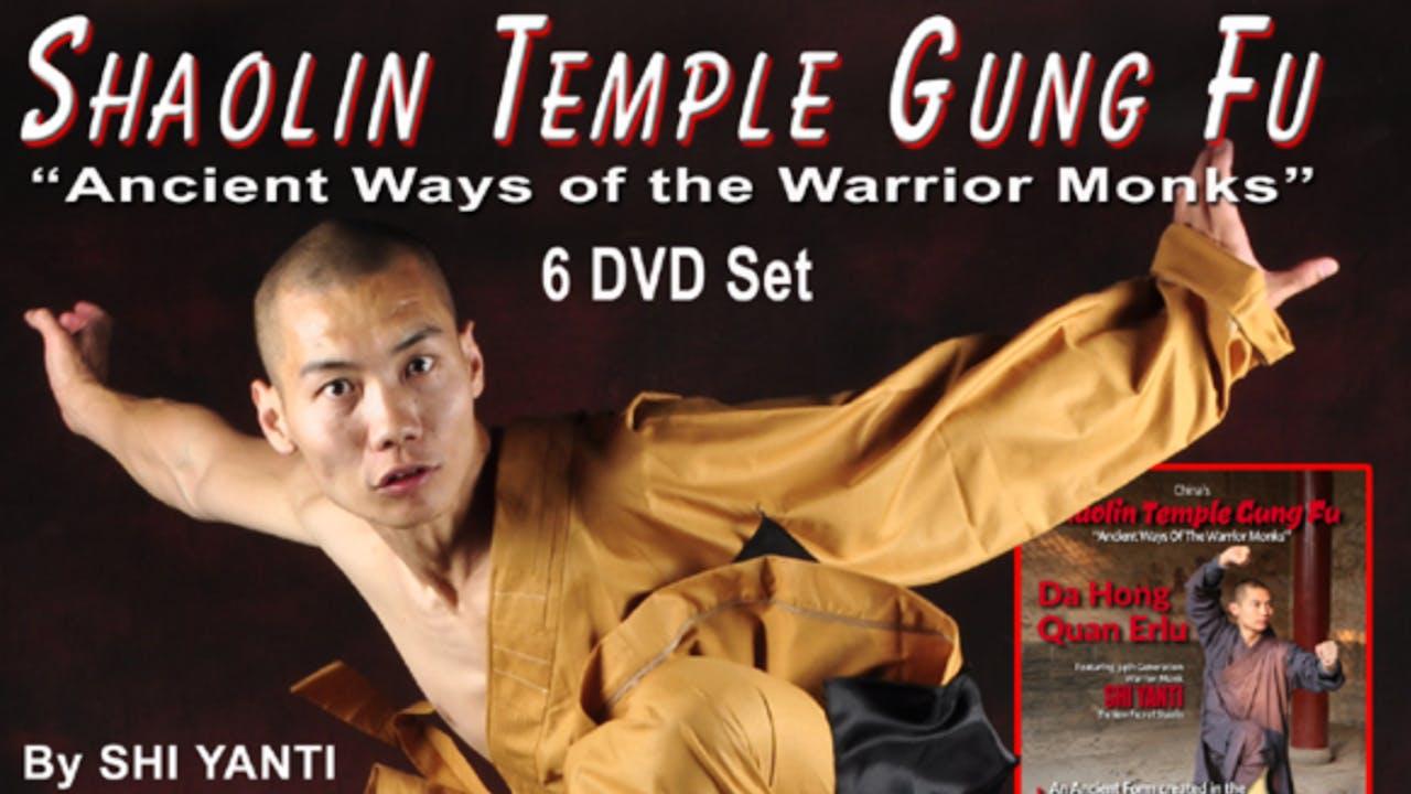 Shaolin Temple Gung Fu 6 Vol Series by Shi Yanti
