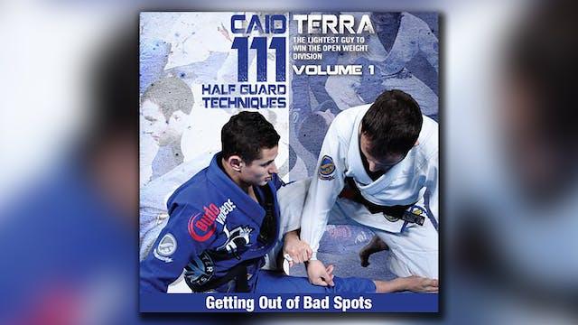 111 Half Guard Techniques Vol 1 by Caio Terra