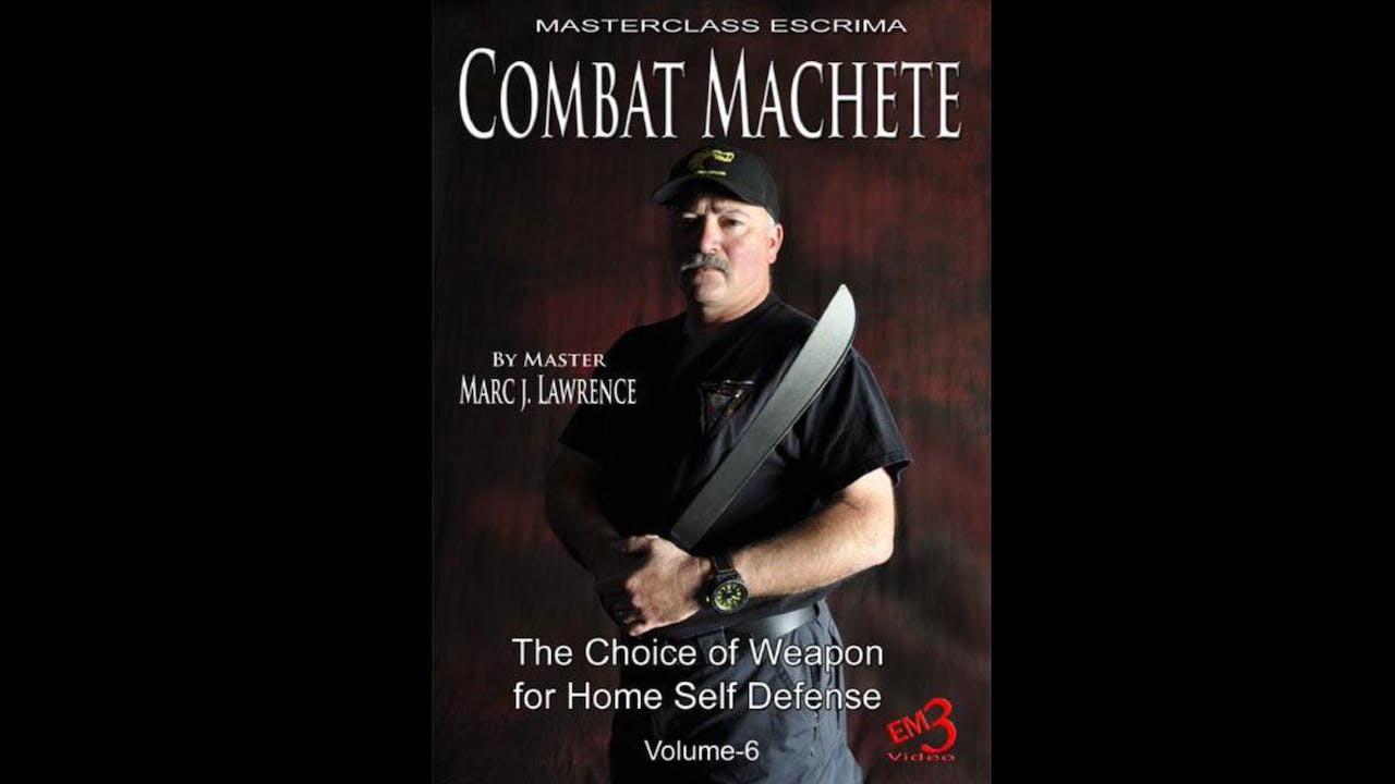 Combat Machete Home Self Defense by Marc Lawrence