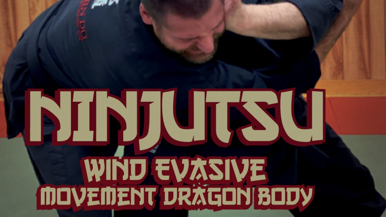 Ninjutsu Secrets 8 Wind Movement Stephen Hayes