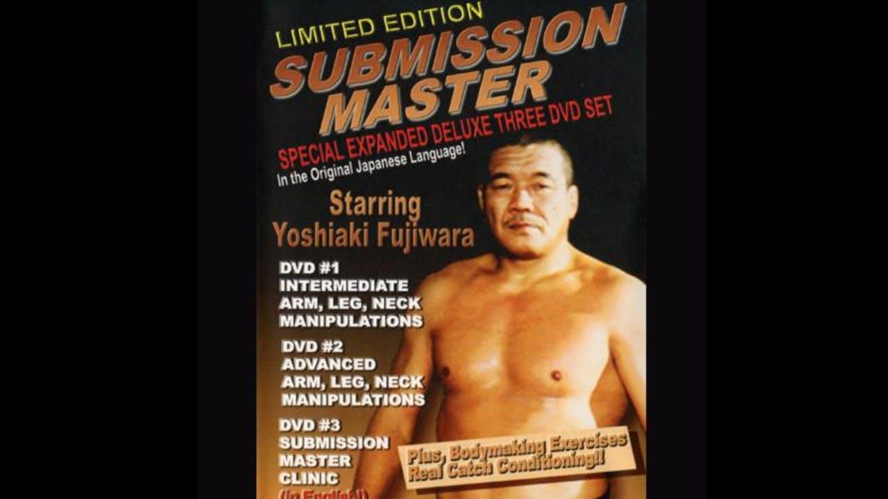 Submission Master by Yoshiaki Fujiwara