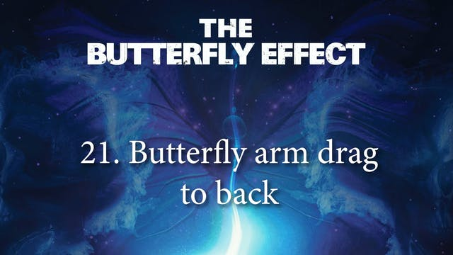 21 Butterfly Arm Drag to Back - Butterly Effect