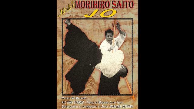 Aikido Jo by Morihiro Saito