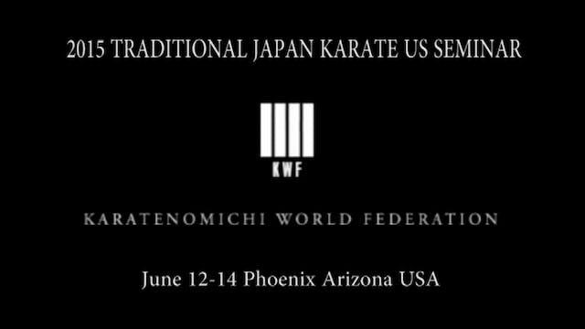 1 Mikio Yahara 1st USA Karate Seminar
