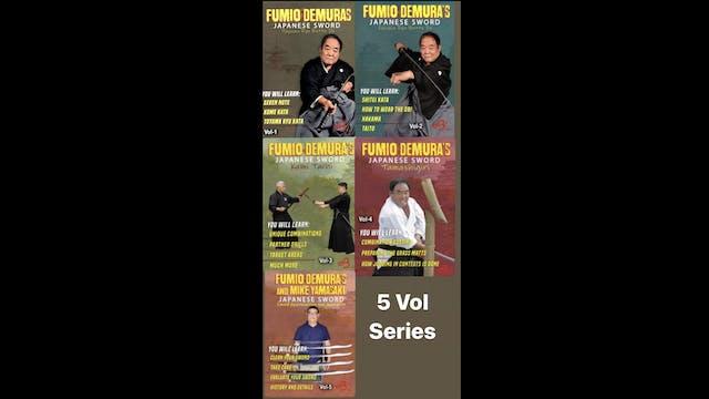 Japanese Sword 5 Vol Series by Fumio Demura