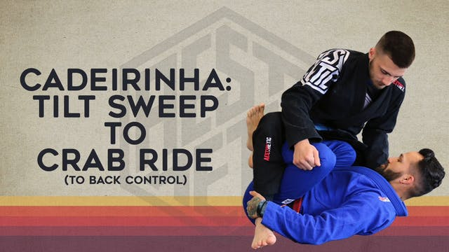 15. Basic Sweep to Crab to Back Control-Caderinha