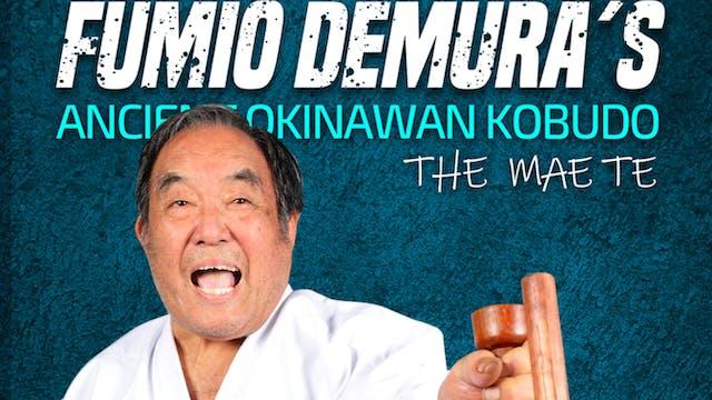 Okinawan Kobudo: Mae Te by Fumio Demura