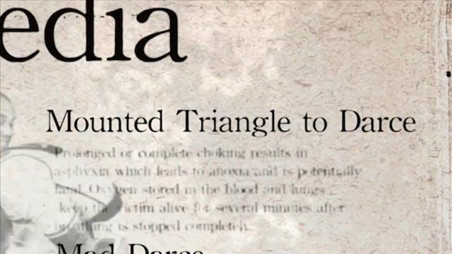 21 Mounted Tringle to Darce Darcepedi...