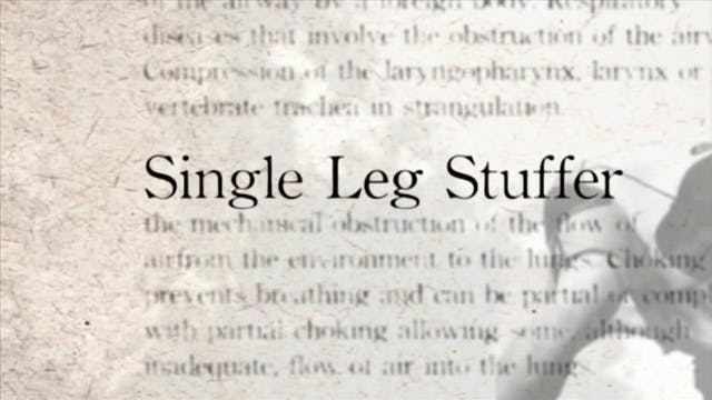 17 Single Leg Stuffer