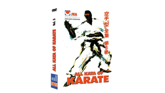 JKA Karate All Kata of Karate Vol 3